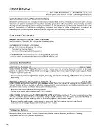 Nursing Resume Templates Free Best Registered Nurse Resume Example In Nursing Template Cv Sample ...