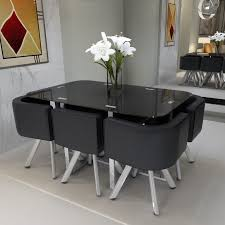 round space saving dining table and chairs elegant round space with regard to space saver dining