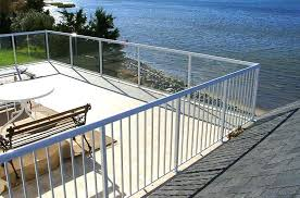 aluminum deck railing systems glass picket railings installing aluminum deck railing systems