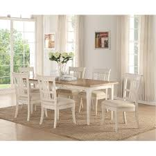 white washed dining room furniture. 5 piece dining set contemporary monterey white wash and oak washed room furniture e