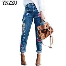 <b>YNZZU</b> Summer high waist blue women shorts With belt elastic ...