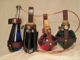 picture of leather potion bottle holder
