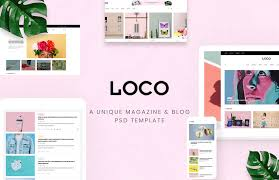 10 Free Personal Blog Magazine Layout Psd Web Templates