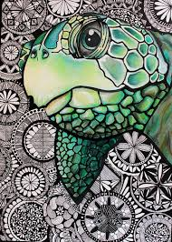 Small Picture 21 best Colored Pencils Sea Turtles images on Pinterest Sea