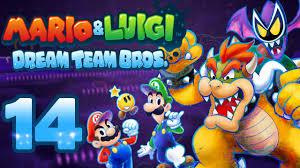 Ausmalbilder Mario Und Luigi Dream Team Bros L L L L