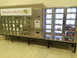 Fresh Vending Machines Extraordinary A Local Farmer In Scotland Has Vending Machines In Malls That Sell