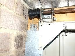 repair garage door cable how to replace garage door cable installing garage door cables springs repair