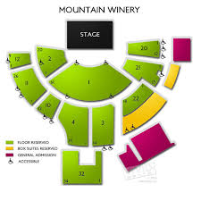 The Mountain Winery Seating Chart City Winery Nyc Seating Chart