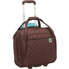 Delsey Quilted Rolling UnderSeat Tote- EXCLUSIVE   Suitcase.com & Delsey-Quilted-Rolling-UnderSeat-Tote-EXCLUSIVE-0 Adamdwight.com