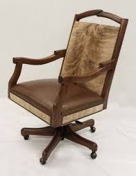 wooden swivel desk chair. Cow Print Back Swivel Office Chair With Wooden Frame And Wheels For Traditional Home Design Desk V