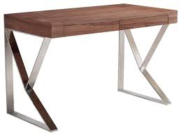 walnut office desks. York Collection Office Desk Contemporary Desks And Hutches Walnut H