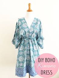 It's Sew Easy Patterns Best Free Sewing Pattern Boho Kimono Dress Pattern Kimono Dress