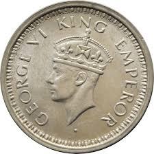 1 Rupee George Vi India British Numista