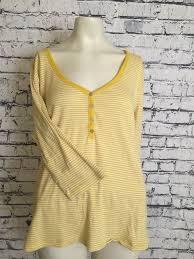Old Navy Size Chart Women S Plus Old Navy Plus Size Women Xxl Yellow White Stripe 3 4 Sleeve