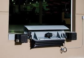 kelley edge of dock levelers superior loading dock bumpers ka series air powered edge of dock leveler