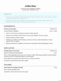 Resume Sample Modern Resume Template Throughout Resume Sample
