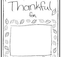 I Am Thankful For Coloring Pages Free Thanksgiving Thankful Coloring