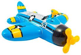 Купить <b>Надувная</b> игрушка-наездник Intex Самолеты 57537 в ...