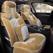 winter plush car seat cover cushion for toyota camry corolla rav4 civic highlander land cruiser prius