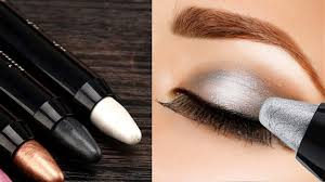 how to apply eyeshadow perfectly using pencil step by step tutorial beauty tips for perfect eyes