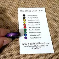 What Mood Ring Colors Mean Chart Methodical Mood Jewelry Color Meaning Chart Mood Jewelry