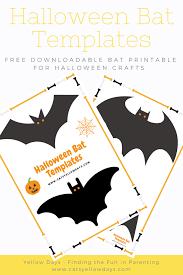 Exploit Cut Out Bats Free Printable Halloween Bat Template For ...