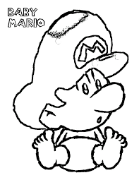 Small Picture Baby Mario Coloring Pages Archives coloring page