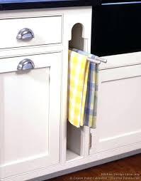 kitchen towel hanger. Kitchen Towel Racks For Cabinets Cabinet Bar Rack Ideas Hanger