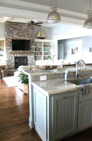 Open Floor Plan Decorating An Ideas House Plans Living Room And ...