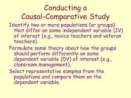 Causal Comparative Study Ppt Correlational And Causal Comparative Research Powerpoint