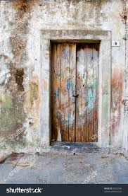Medieval Doors antique wooden doors peeling paint medieval stock photo 84853396 7019 by xevi.us