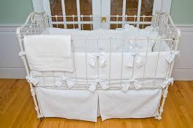matelasse crib bedding white by sweet william