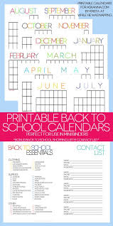 Printable Contact List Delectable Printable Back To School Organizer Kit Pinterest Free Printable