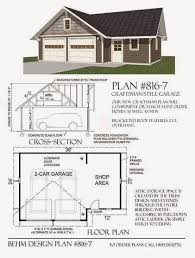 2 Car Garage Designs Garage Plans Blog Posted By Behm Design Presents Examples Of
