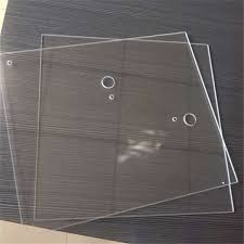 high borosilicate heat resistant glass for fireplace door