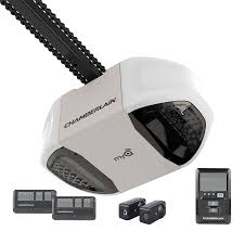 garage door openersShop Chamberlain 075HP Chain Drive Garage Door Opener at Lowescom