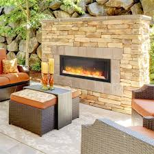 40 inch indoor outdoor electric fireplace install it inside or outside this electric