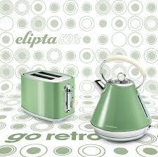 Sage Green Kitchen Accessories Bring The Sixties To Your Kitchen With The Morphy Richards Elipta