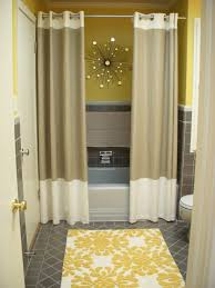 Wonderful Double Shower Curtain Ideas Bathrooms T In Concept