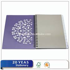 Spiral Notebook With Colored Paper With Colored Index Tab Dividers
