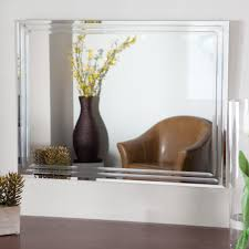 Frameless Mirror For Bathroom Bathroom Light Up Your Home With Frameless Beveled Mirror