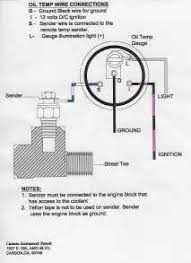 auto gauge wiring diagram water temp images oil temperature gauge wiring diagram