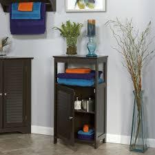 Modern Bathroom Floor Cabinet Free Standing Storage Unit in