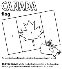 Creative Design Coloring Pages Of Flags Canada Flag Page Crayola Com