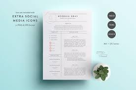 Ats Resume Format Elegant Resume Templates Creative Market Ats