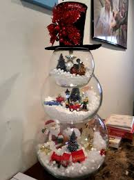fish bowl snowman these are the best diy decorations craft ideas