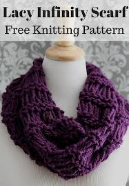 Free Knit Patterns Inspiration Lacy Infinity Scarf Free Knitting Pattern