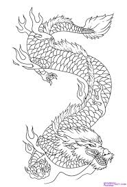 Dragon Drawings How To Draw Dragon Art Step 9 Hobby