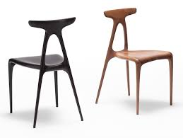 modern wood chair. A Solid Wood Chair Created With Modern Technology E