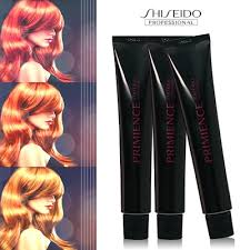 Yunsey Color Chart Shiseido Primience Color 80g 49kinds Hair Dye Fashion Color Shampoo Treatment Straightener Sale